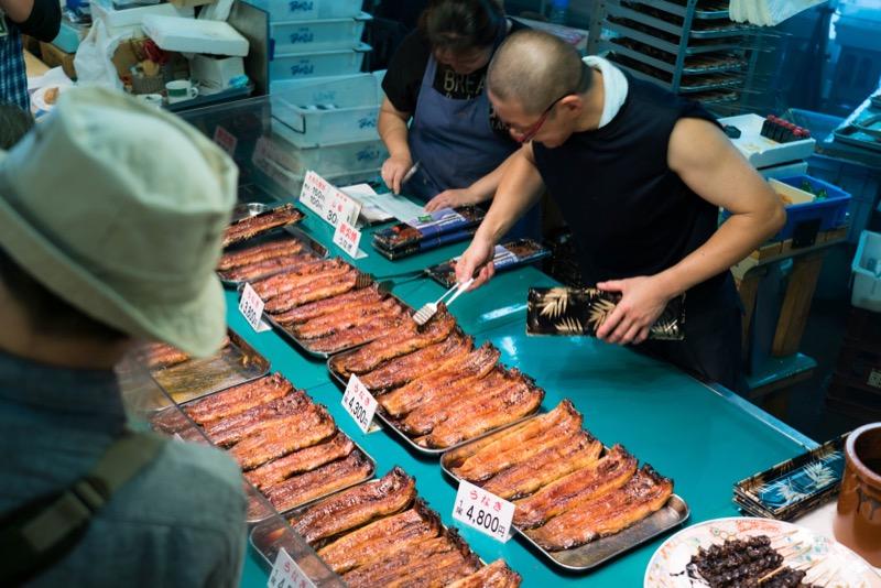近江町市場夏の素材